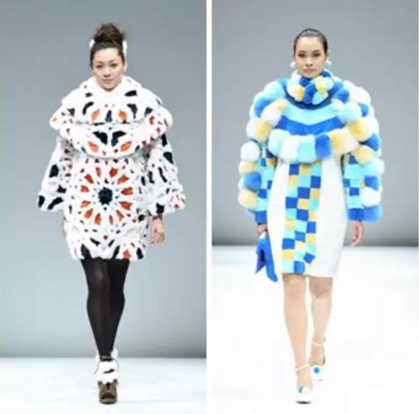 【羊丽羊】皮草世界里的万种风情,日本设计大赛作品透露2017皮草流行