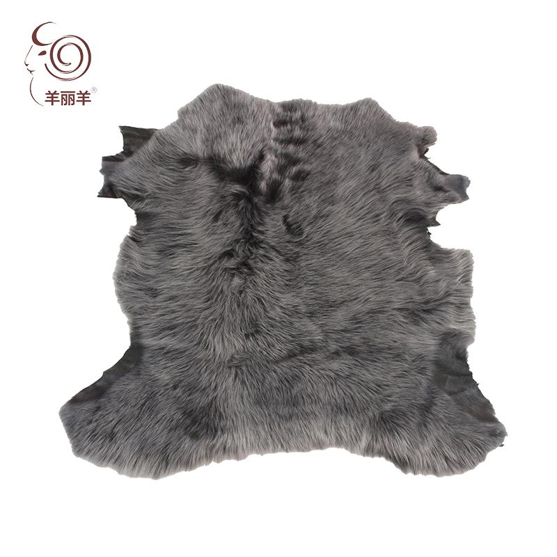 【羊丽羊】土耳其高端霜色绒面托斯卡纳皮毛一体 服装用进口皮毛一体