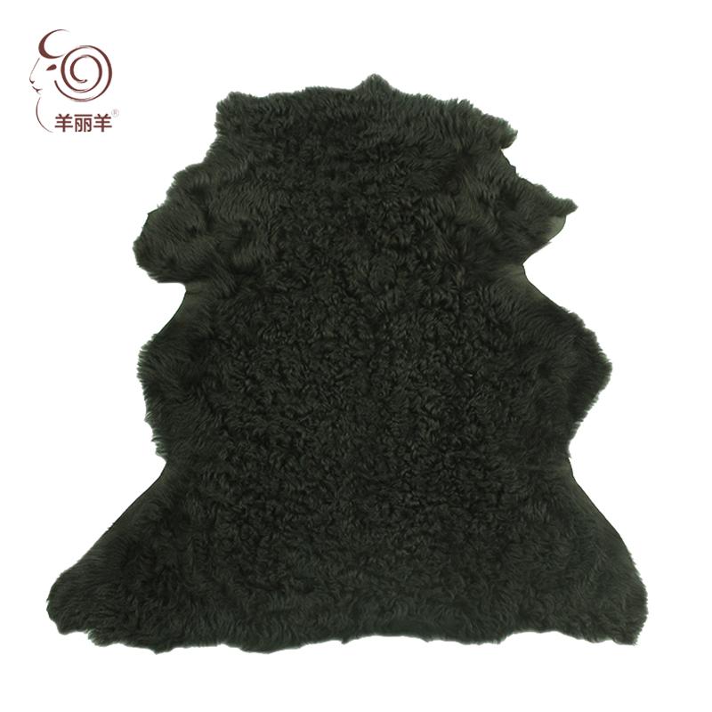 【羊丽羊】土耳其高端提格拉朵皮毛一体羊皮革 服装用进口皮毛一体