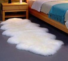 卧室羊毛地毯成品