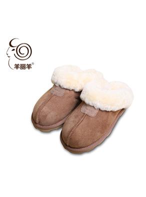 【羊丽羊】澳洲皮毛一体真皮毛皮鞋