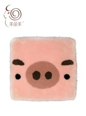 【羊丽羊】客厅沙发坐垫批发价格美丽,澳洲进口皮毛一体羊毛沙发坐垫厂家坚持做真皮毛品质值得信赖