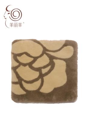【羊丽羊】沙发坐垫品牌实力保障,澳洲进口皮毛一体羊毛沙发坐垫招商加盟品质值得信赖