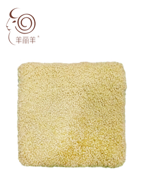 【羊丽羊】汽车空调羊毛坐垫批发多少钱?澳洲进口皮毛一体羊毛坐垫厂家直销价格美丽