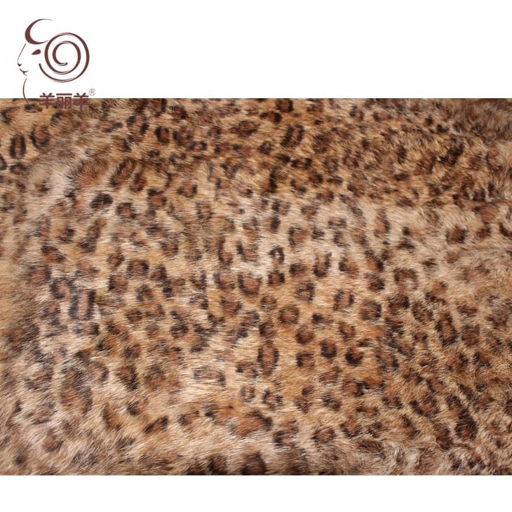 【羊丽羊】豹点豹纹兔毛皮