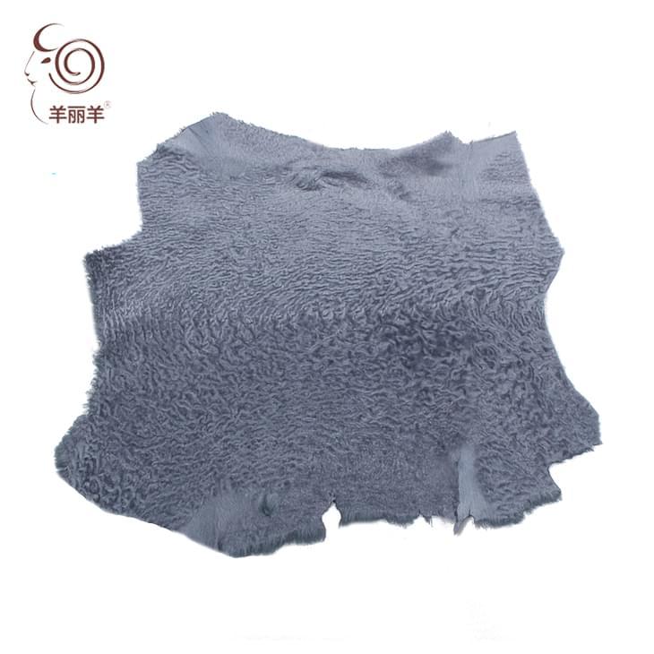 【羊丽羊】厂家直销 土耳其进口羊皮革 阿斯拉干 服装用皮毛一体