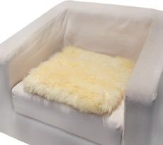 【羊丽羊】羊毛皮沙发垫