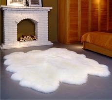 【羊丽羊】客厅羊毛地毯