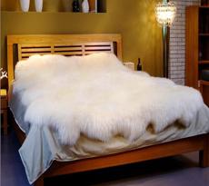 【羊丽羊】羊毛床毯