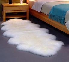 【羊丽羊】卧室羊毛地毯
