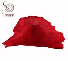 【羊丽羊】澳洲进口红色袋鼠皮毛一体
