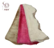 【羊丽羊】意大利进口高端服装托斯卡纳羊皮毛一体面料
